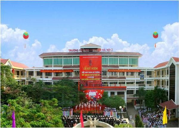 Đại học Sư phạm Hà Nội 2 thông báo xét tuyển bổ sung 2019