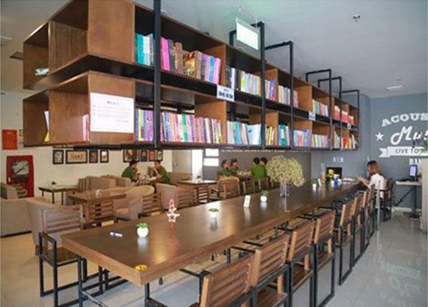 """""""Book cafe"""" - Mô hình phòng đọc kết hợp cafe sách"""
