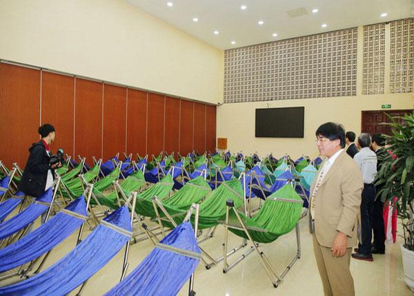 Khu nghỉ trưa tiện nghi dành cho sinh viên trường ĐH Sư phạm kỹ thuật TPHCM