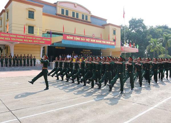 Trường Sỹ quan lục quân 1 thông báo xét tuyển bổ sung 199 chỉ tiêu