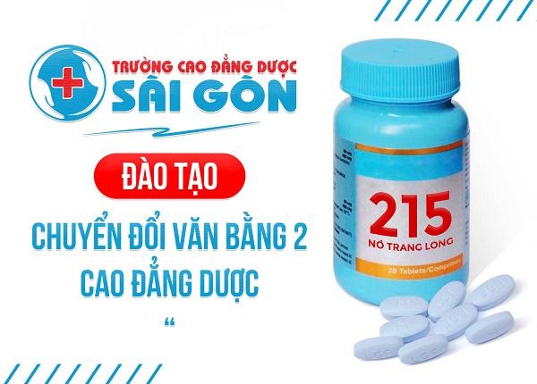 Trường Cao đẳng Dược Sài Gòn tuyển sinh Văn bằng 2 Cao đẳng Dược
