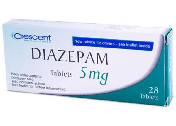 Diazepam là thuốc có tác dụng an thần, giảm lo âu và thư giãn cơ bắp