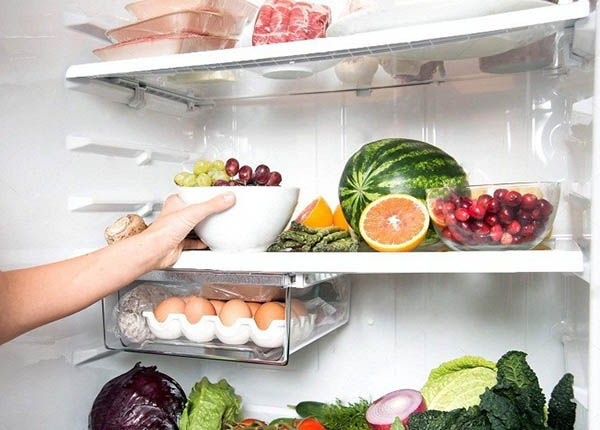 Giữ nhiệt độ phù hợp cho tủ lạnh để đảm bảo bảo an toàn thực phẩm