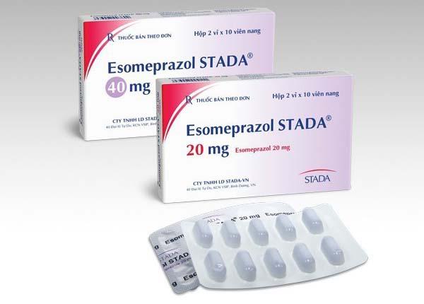 Thuốc Esomeprazole dùng để điều trị một số bệnh dạ dày và cuống họng