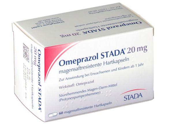 Thuốc Omeprazole giúp chữa lành tổn thương dạ dày và thực quản do axit
