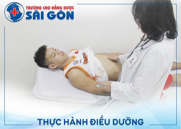 Trường Cao Đẳng Dược Sài Gòn đào tạo Điều dưỡng chất lượng