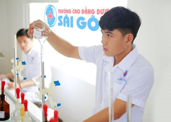 Trường Cao đẳng Dược Sài Gòn cơ sở vật chất hiện đại chuyên nghiệp
