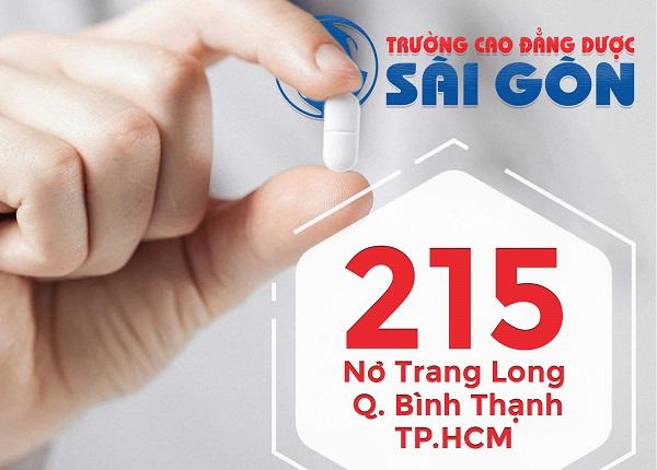 Trường Cao đẳng Dược Sài Gòn tuyển sinh Cao đẳng Dược năm 2019