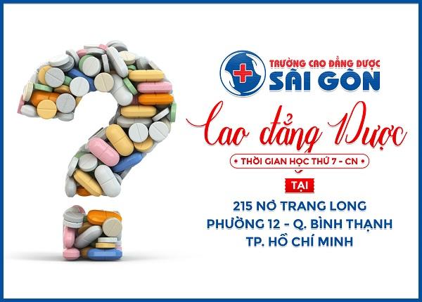 Trường Cao đẳng Dược Sài Gòn tuyển sinh Cao đẳng Dược