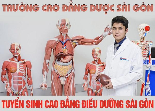 Tuyển sinh Cao đẳng Điều dưỡng học tại Sài Gòn