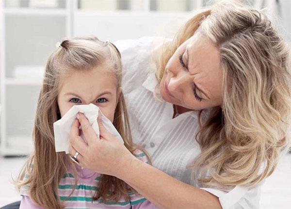 Bệnh viêm mũi dị ứng là bệnh mà trẻ em thường hay mắc phải nhất
