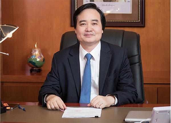 Bộ trưởng bộ Giáo dục Phùng Xuân Nhạ