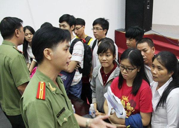 Dự kiến hạn chế đầu vào đối với học sinh phổ thông vào các trường công an