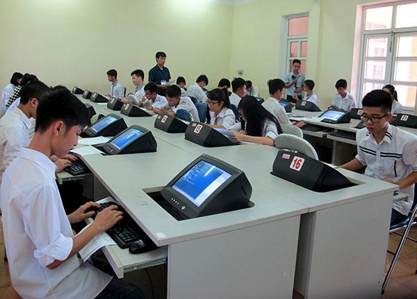 Ngân hàng đề thi vẫn là yếu tố quan trọng trọng để thi trên máy tính