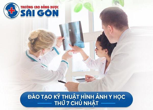 Trường Cao đẳng Dược Sài Gòn đào tạo Kỹ thuật hình ảnh Y học Sài Gòn học ngoài giờ hành chính