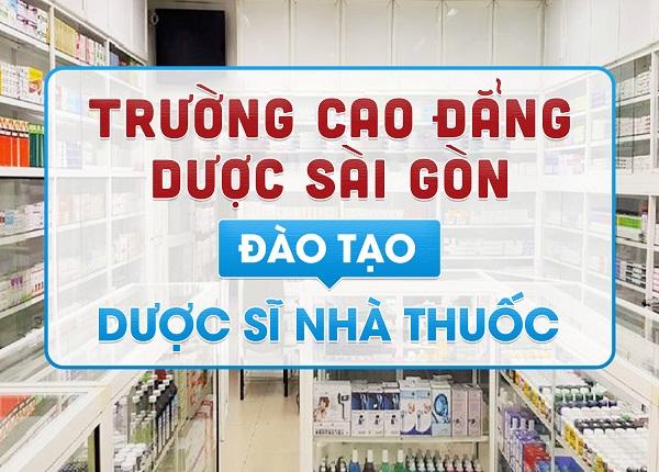 Trường Cao Đẳng Dược Sài Gòn đào tạo Dược sĩ Nhà thuốc chuẩn Bộ Y tế