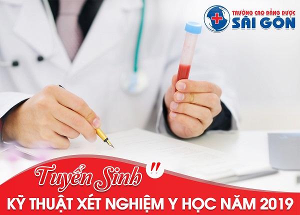 Tuyển sinh Cao Đẳng kỹ thuật Xét nghiệm Y học tại Sài Gòn