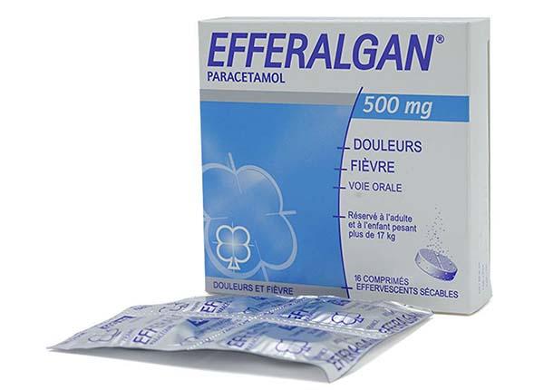 Efferalgan 500mg dùng trọng các trường hợp giảm đau và hạ sốt