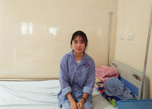Em Phạm Thị Hoa phát hiện bị ung thư khi nhận giấy báo trúng tuyển ĐH