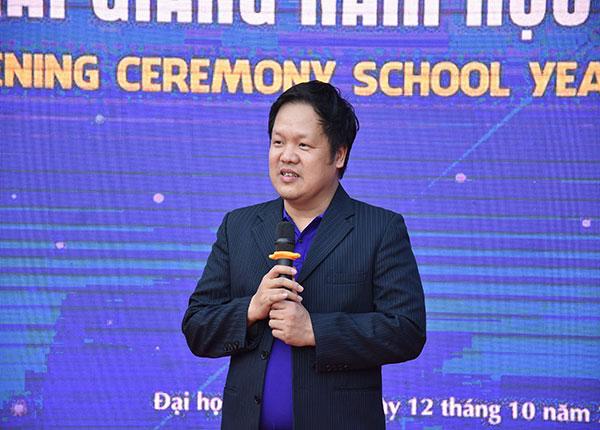 TS.Đàm Quang Minh, hiệu trưởng trường ĐH Phú Xuân