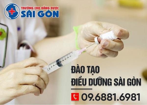 Trường Cao đẳng Dược Sài Gòn tuyển sinh Cao đẳng Điều dưỡng Sài Gòn