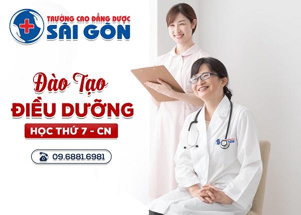 Trường Cao đẳng Dược Sài Gòn địa chỉ đào tạo Điều dưỡng chuyên nghiệp