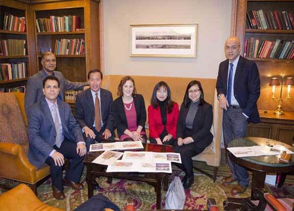 Đoàn dự án Đại học VinUni làm việc với đối tác Cornell tại Mỹ