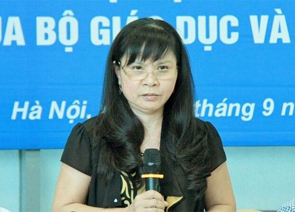 Phó giáo sư Nguyễn Phương Nga - giám đốc Trung tâm Kiểm định chất lượng giáo dục