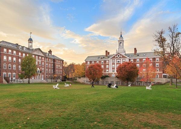 Một góc của Trường Đại học Harvard