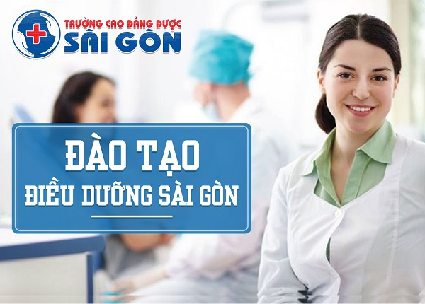 Trường Cao đẳng Dược Sài Gòn đào tạo Điều dưỡng viên chuyên nghiệp