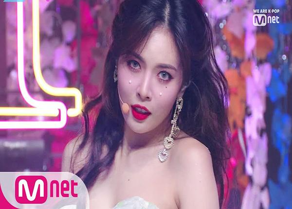 HyunA là một trong những nữ ca sĩ thành công với phong cách sexy