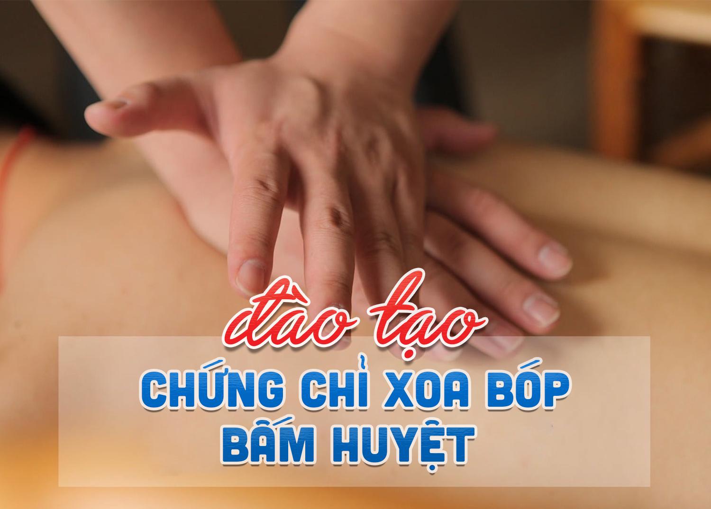 Trường Cao đẳng Dược Sài Gòn đào tạo chứng chỉ xoa bóp bấm huyệt