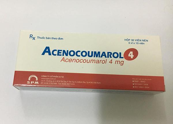 Thuốc Acenocoumarol