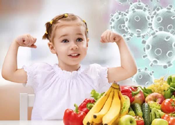 Một chế độ dinh dưỡng hợp lí sẽ giúp bạn nâng cao đề kháng của cơ thể