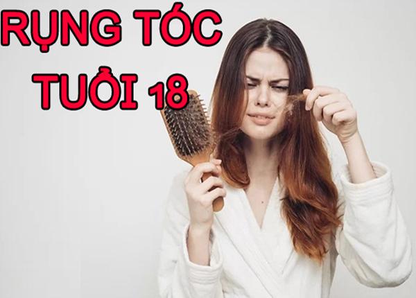 Rụng tóc ở tuổi 18