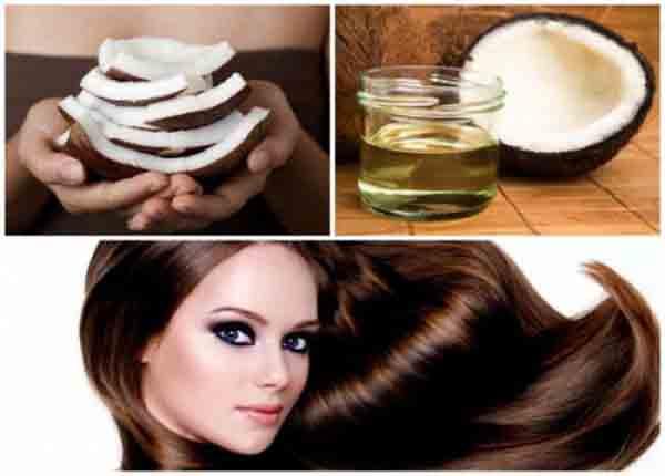 công dụng của dầu dừa đối với mái tóc